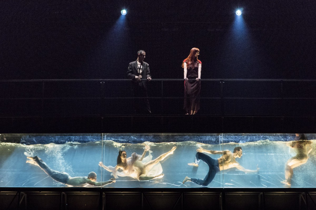 Sydney - January 15, 2014: A scene from Henry Purcell's Dido and Aeneas performed during the 2014 Sydney Festival (Photo by Jamie Williams/Sydney Festival)
