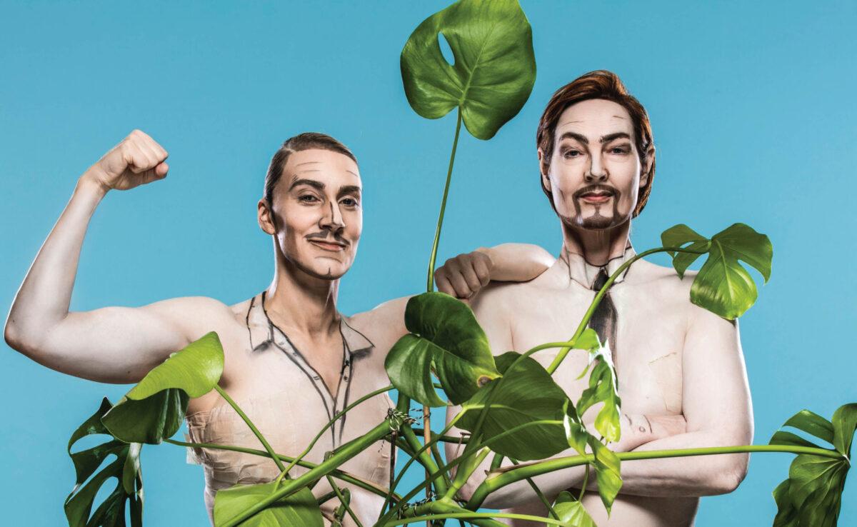 Transplantation, Sofia Södergård och Charlotte Engelkes, foto Mats Bäcker.
